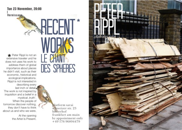 Peter Rippl by Sarai